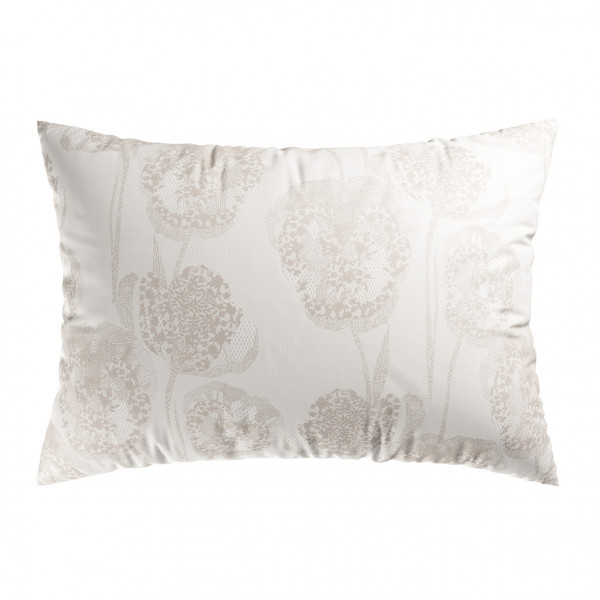 2 Lace Taupe kussenslopen